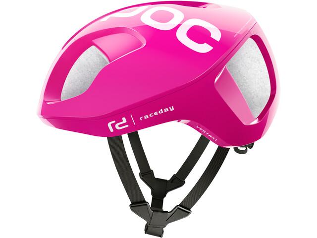 POC Ventral Spin Helmet fluorescent pink
